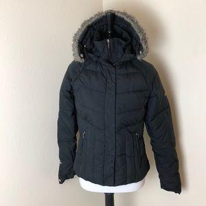 Columbia Black Puffer Jacket Size XS